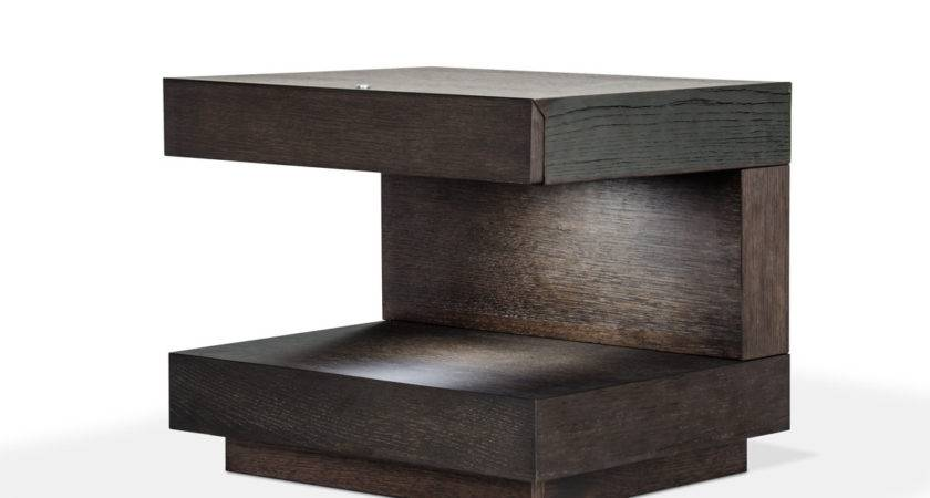 Modrest Esso Modern Grey Nightstand