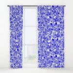 Moroccan Bloom Window Curtains Cadinera Society