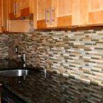 Mosaic Glass Tiles Kitchen Backsplashes Ideas Home