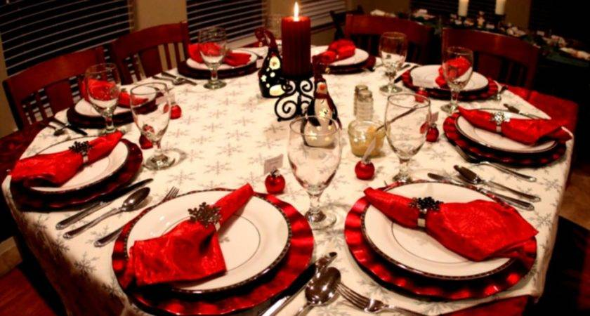 Most Amazing Christmas Table Decorations Godfather