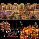 Most Decorated Christmas Homes America Popsugar Home