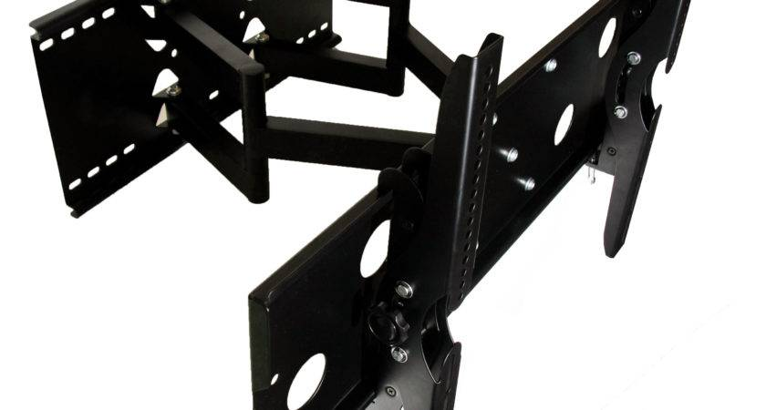 Mount Dual Arm Articulating Wall