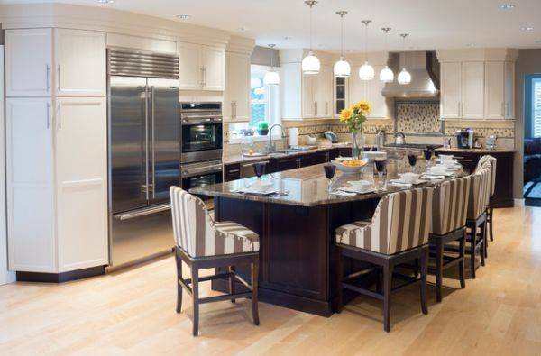 Multifunctional Kitchen Islands Seating