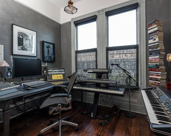 Music Studio Home Design Ideas Remodel Decor