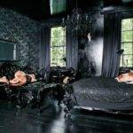 Mysterious Gothic Bedroom Interior Design Ideas