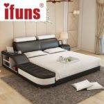Name Ifuns Luxury Bedroom Furniture Modern Design King