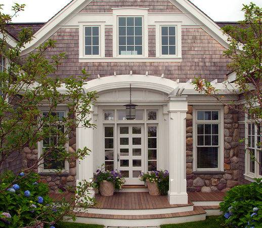 Nantucket Residence Front Beach Style Exterior