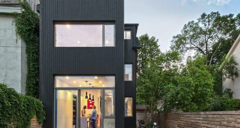 Narrow Dwelling Toronto Converted Into Bright
