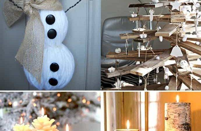 Natural Christmas Decorations Lovely Home