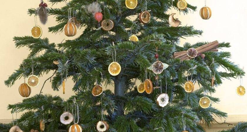 Natural Christmas Tree Decorations Easy Crafts
