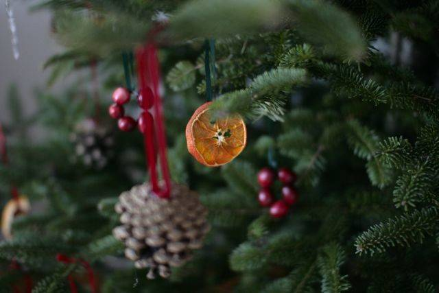 Natural Christmas Tree Ornaments Frompo