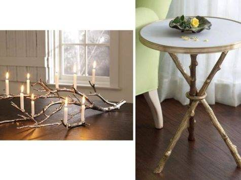 Natural Tree Branch Part Home Decor
