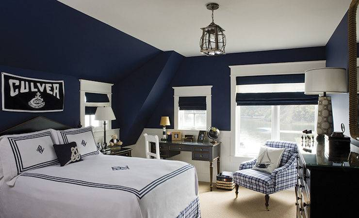 Navy Blue Boys Bedrooms Diy Decorator