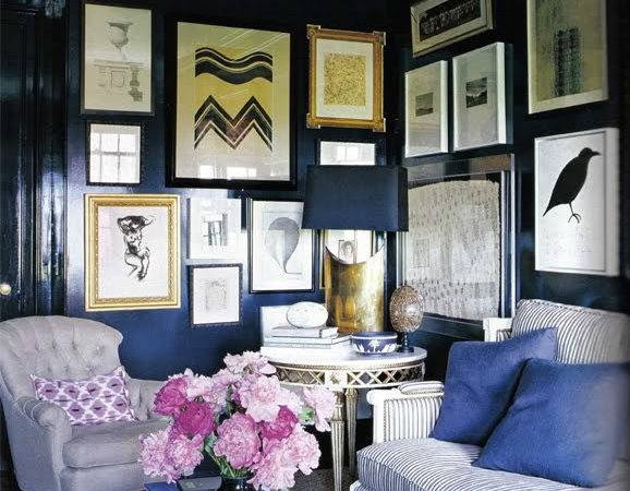 Navy Blue Room Delo Loves Design