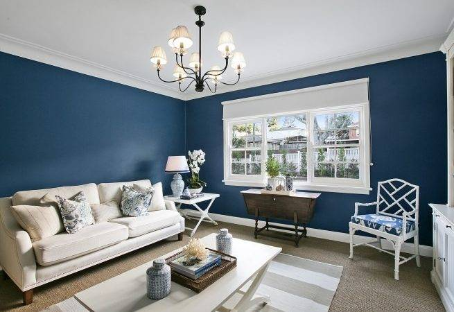 Navy Blue Walls Our House Building Blog