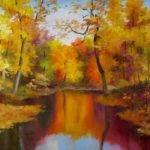 Nel Everyday Painting Autumn Landscape Sold