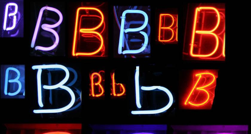 Neon Letter Signs Recommendation