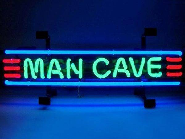 Neonetics Mancs Man Cave Small Neon Sign Atg Stores