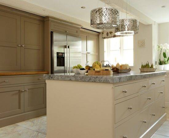 Neutral Brown Shaker Style Kitchen