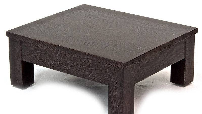 Nevada Sale Low Bedside Table Natural Bed Company