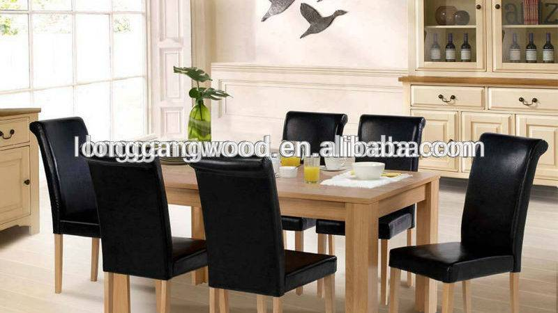 New Design Wooden Dining Table Chair