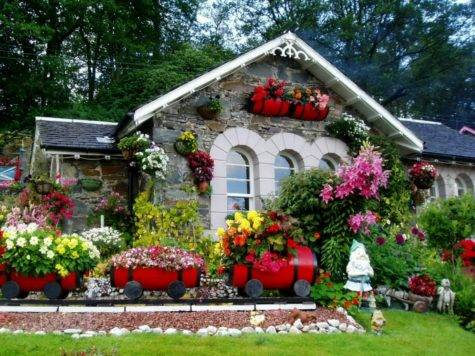 New Home Designs Latest Beautiful Gardens Ideas