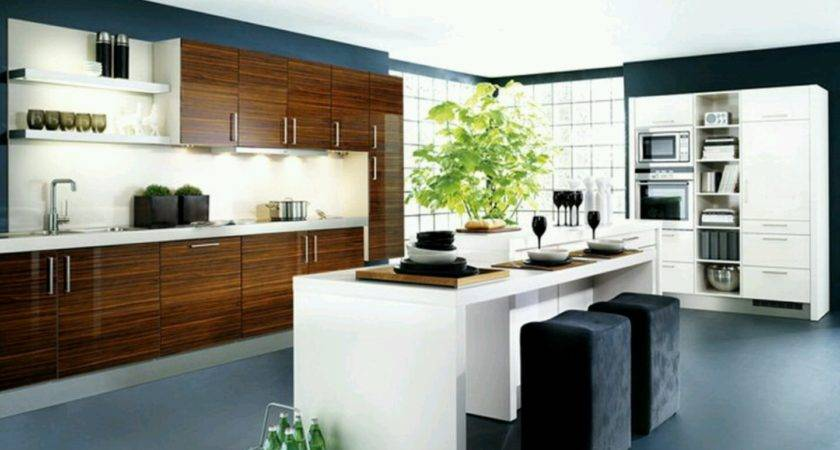 New Home Designs Latest Kitchen Cabinets Modern