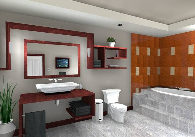 New Home Designs Latest Modern Bathrooms Ideas