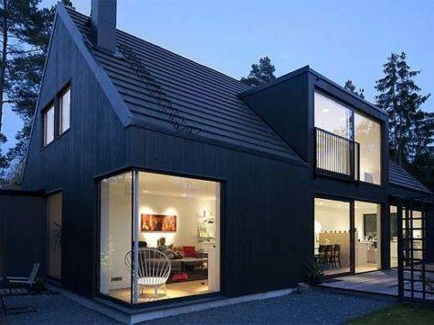 New Home Designs Latest Swedish Homes Front Views
