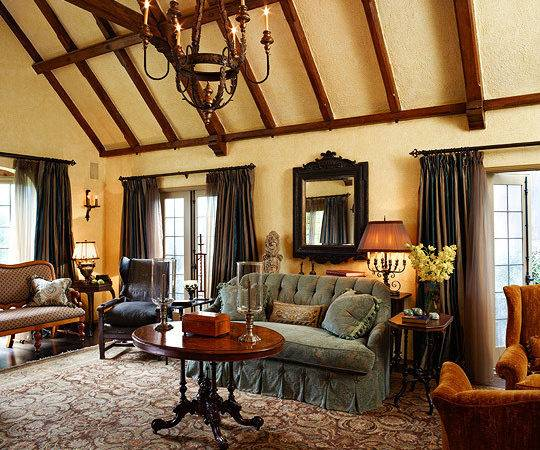 New Home Interior Design Old World Style Tudor