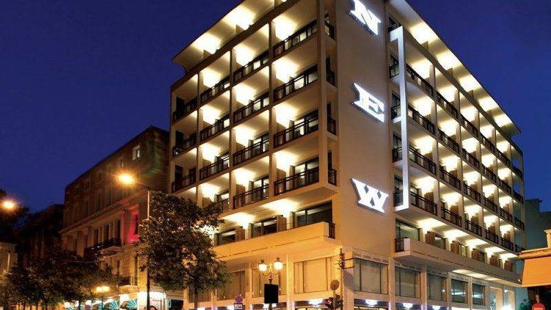 New Hotel Athens Greece Contemporary Central Location