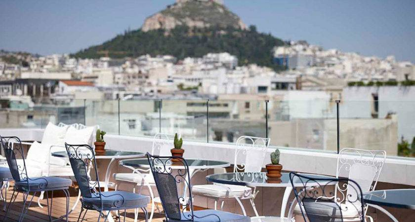 New Hotel Athens Luxury Hotels Travelplusstyle