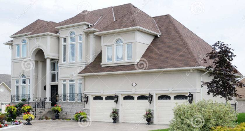 New Luxury House Mansion Flowers