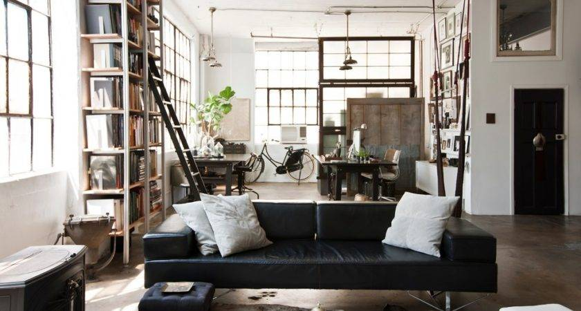 New Vintage Industrial Home Decorating