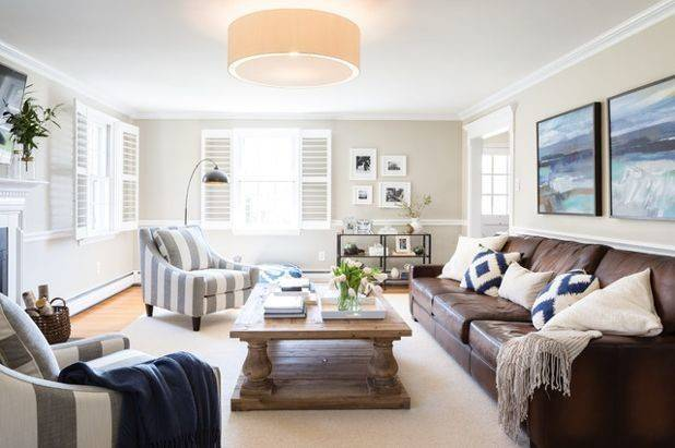 New Week Great Transitional Style Living Rooms
