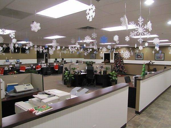 New Year Decoration Ideas Office Make Everybody Happy