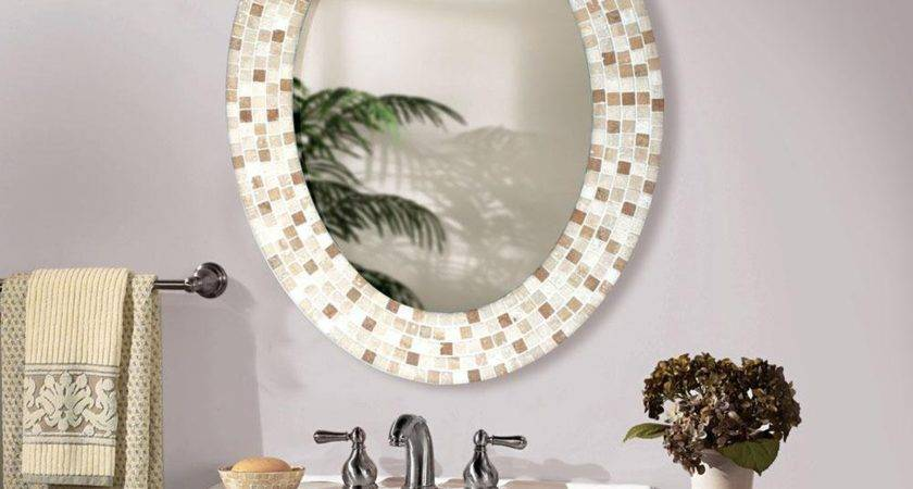 Nice Bathroom Mirror Decorating Ideas Additional