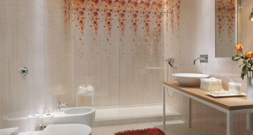 Nice Ideas Beautiful Bathroom Wall Tiles