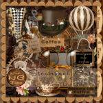 Nina Graphix New Kit Steampunk Cafe