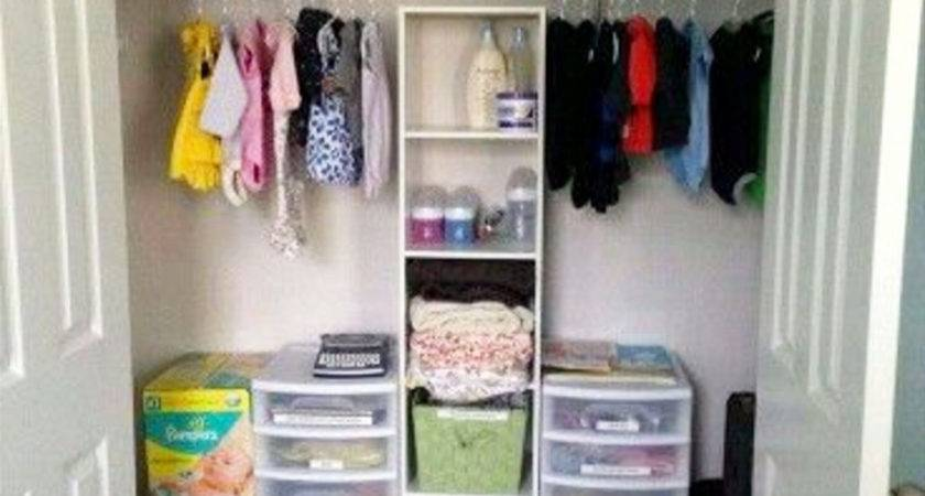 Nursery Closet Organization Easy Diy Baby