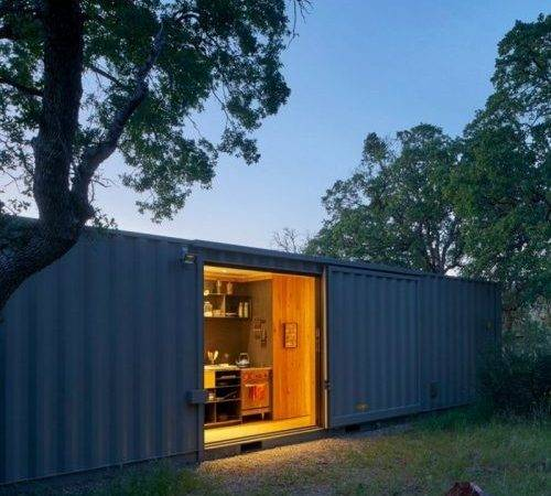 Off Grid Shipping Container Cabin Dwell Boxes
