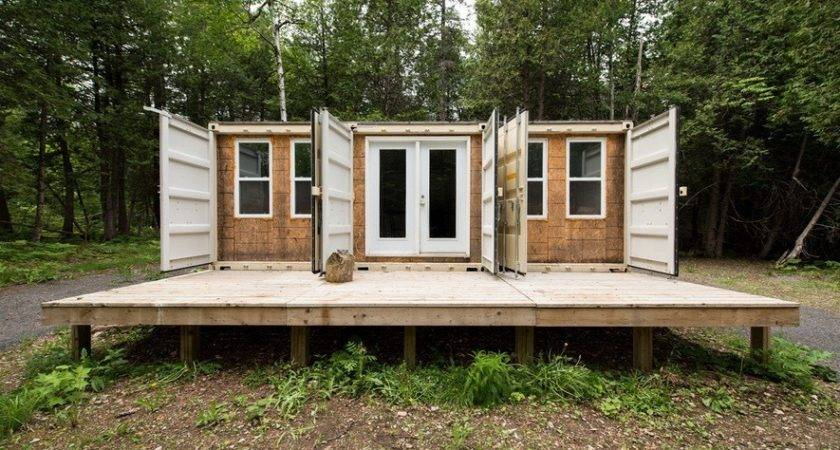 Off Grid Shipping Container Cabin Sale