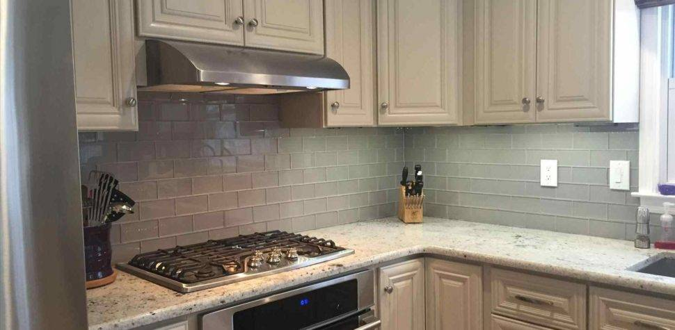 Off White Subway Tile Kitchen Backsplash
