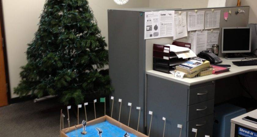 Office Christmas Decorating New Design Ideas