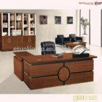 Office Table Design Wooden Modern
