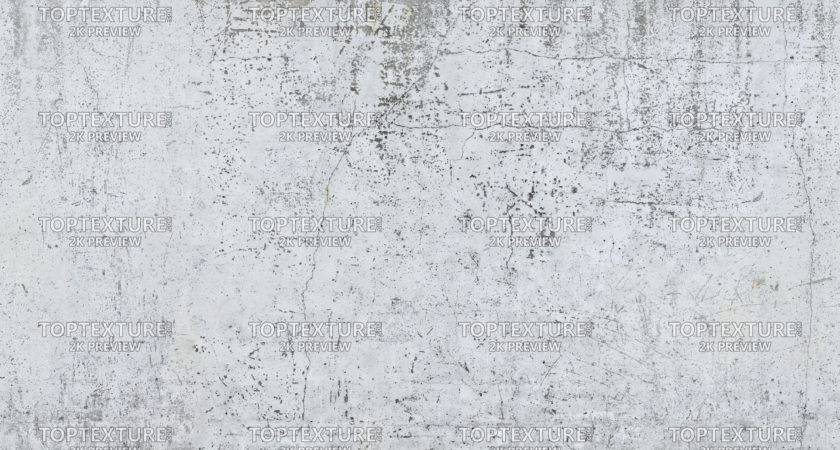 Old Cracked White Painted Wall Top Texture