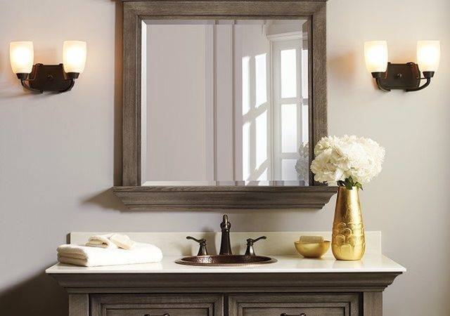 Omega Bathroom Collection Rustic Mirrors