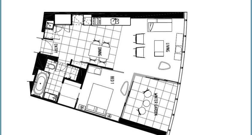 One Bedroom Apartment Open Floor Plans