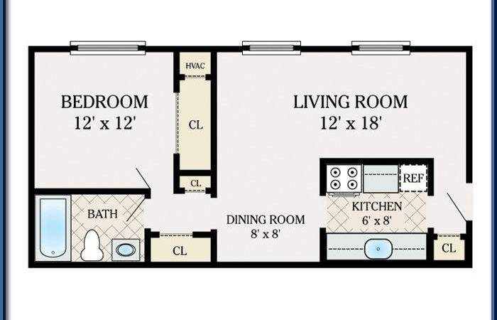 One Bedroom Shillington Commons Apartments