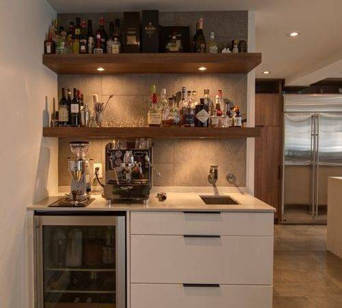 One Wall Bar Home Design Ideas Remodel Decor